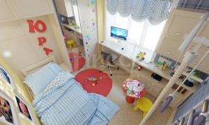 Дизайн-проект детской комнаты.