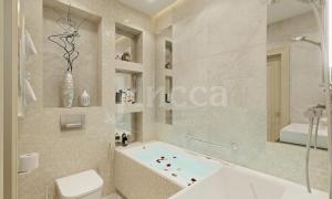 Дизайн-проект ванной комнаты.