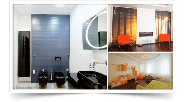 Ремонт 3-комнатной квартиры на Коптюга (140м2)