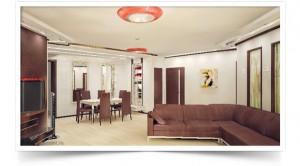 Дизайн-проект 6-комнатной квартиры