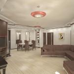 Дизайн-проект зоны отдыха в квартире