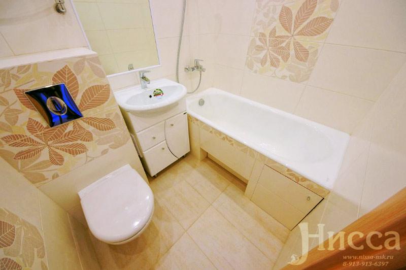 Небольшую ванную можно сделать уютной