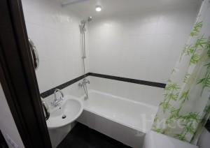 Отделка ванной комнаты в 3-х комнатной квартире