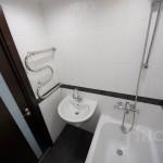 Отделка ванной комнаты в трехкомнатной квартире
