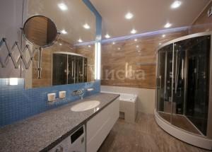 Ремонт ванной комнаты трехкомнатной квартиры на Российской 21 (Академгородок, Новосибирск)