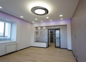 Дизайн интерьера в трехкомнатной квартире на Российской 21