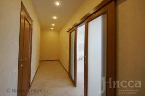отделка коридора и прихожей. Новостройка на Вилюйской. Новосибирск
