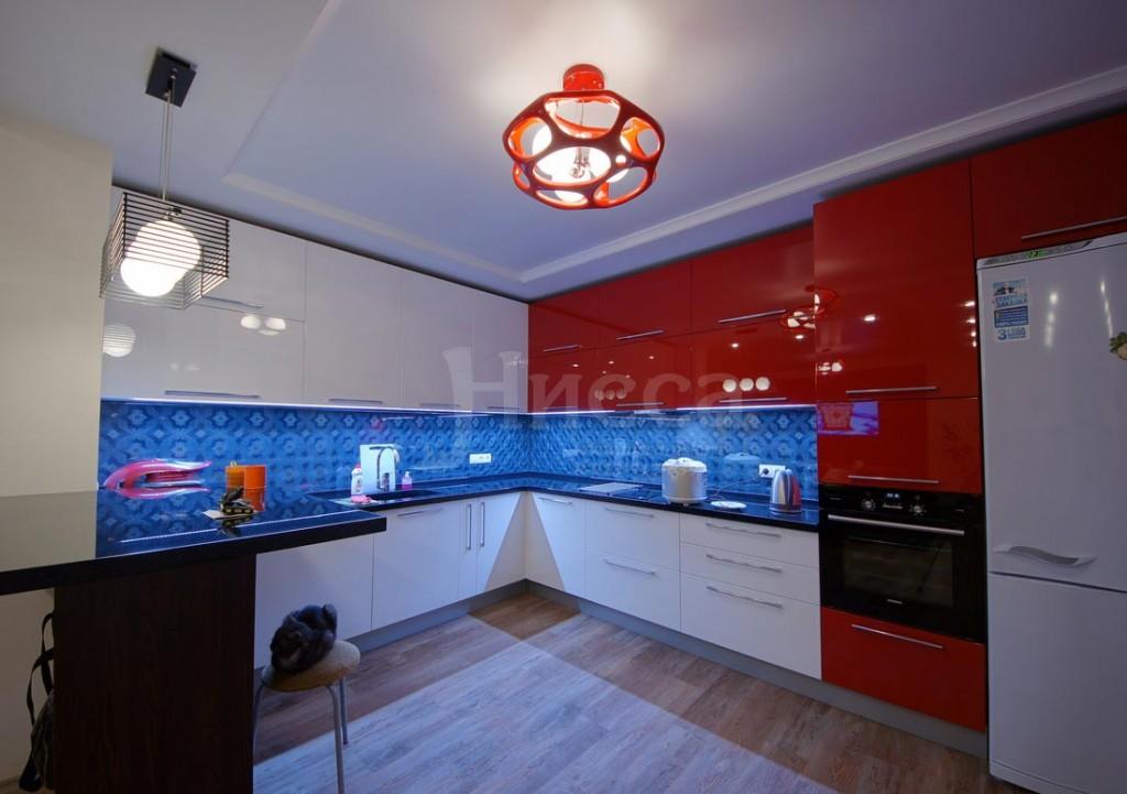 Интересное освещение - ключ удачного ремонта кухни