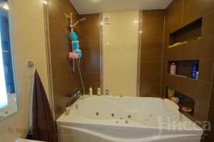 Ремонт ванной комнаты в 6-ти комнатной квартире на Коптюга, 15