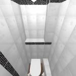 Дизайн-проект санузла в трехкомнатной квартире