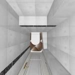 Дизайн-проект туалета в трехкомнатной квартире
