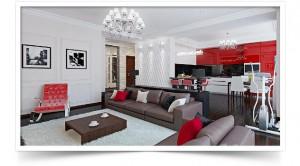 Дизайн квартиры на Балтийской