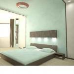 Дизайн-проект освещения спальни
