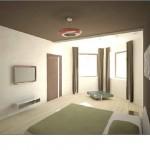 Эркер стал изюминкой дизайна спальни