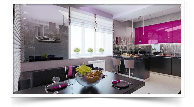 Дизайн-проект 3-комнатной квартиры в Академгородке, на Российской