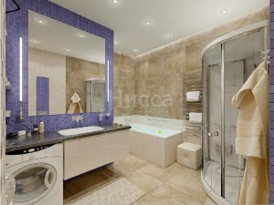 Дизайн-проект 3-комнатной квартиры