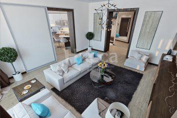 Разработка дизайн-проекта трехкомнатной квартиры.
