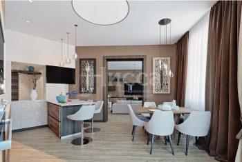 Использование мозаики в дизайне интерьера. Кухня.