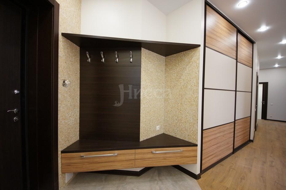 Встроенная мебель на заказ в Новосибирске