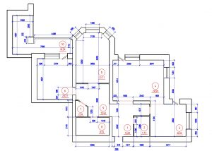 Планировка квартиры на Коптюга