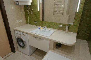 Встроенная мебель. Мебель для ванной.