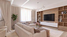 Дизайн трехкомнатной квартиры. Кольцово.