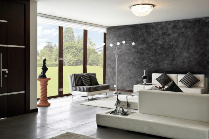 Декоративная штукатурка - один из самых красивых и практичных видов отделки стен.