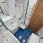 Удачная расстановка сантехнике в ванной в хрущевке