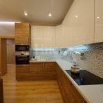 Диодная подсветка фартука кухни - функциональное и эстетичное решение